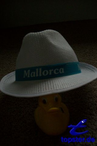 I with my handsome Majorca Hat