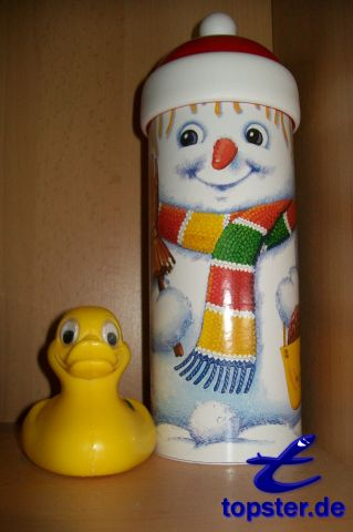 I and the snowman carrot nose