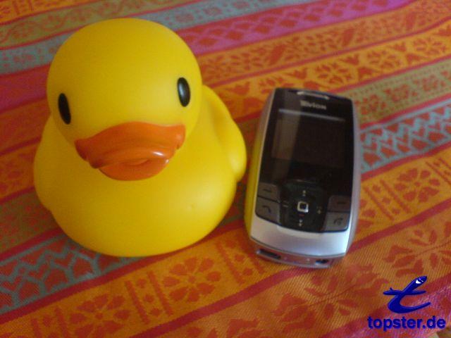 J'ai bien sûr un canard cellulaire pour appeler mes amis de canard