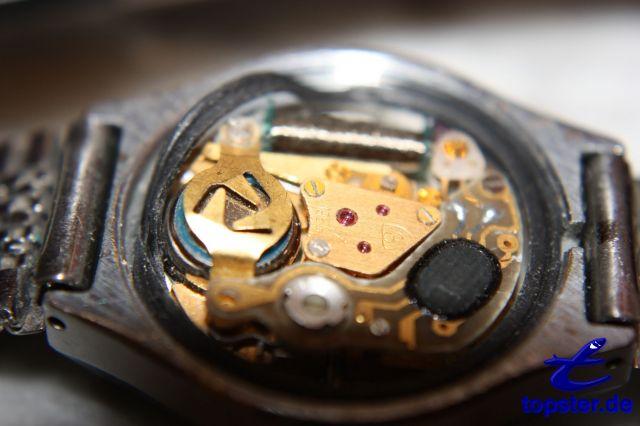 În interiorul un ceas