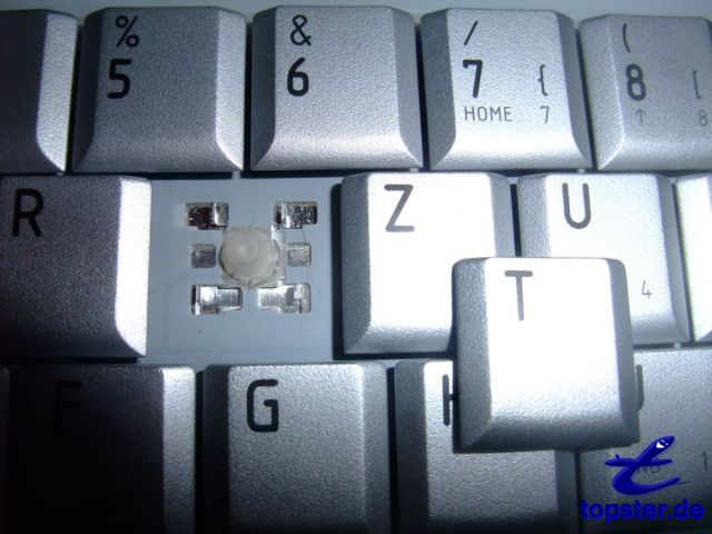 Keyboard with remote key