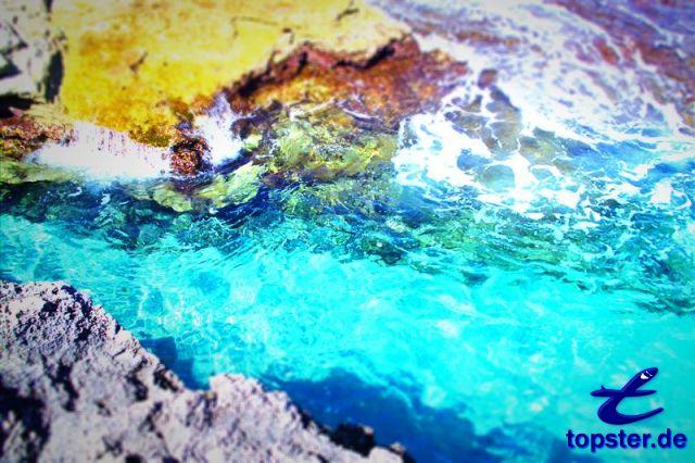 Kleur waterspelen