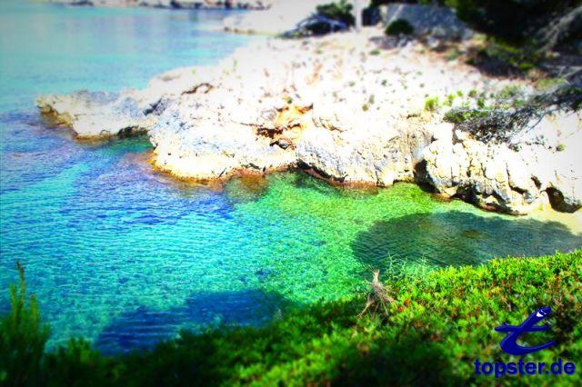 Baía de colorido