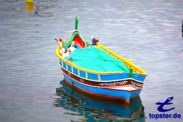 Boat on Malta