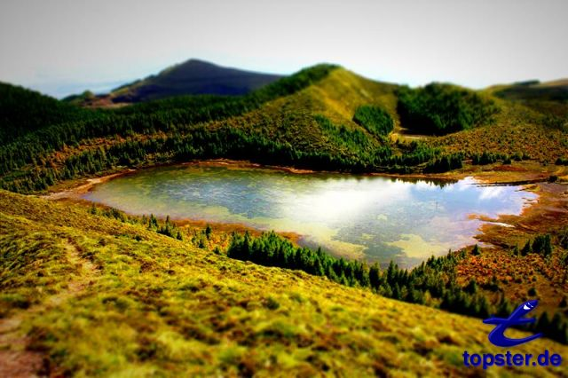Lake in the Azores