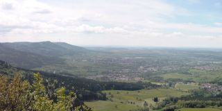 View from the Böllat in Albstadt