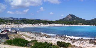 Cala Agulla-bugten, Mallorca