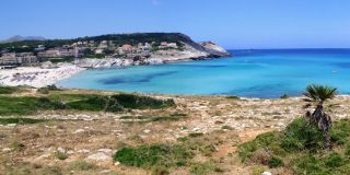 Beach of Cala Mesquida, Majorca