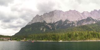 Eibsee with Zugspitze