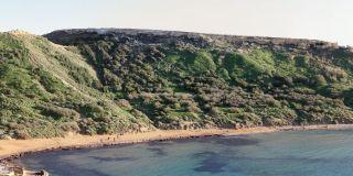 Ghajn Tuffieha Bay a Malta