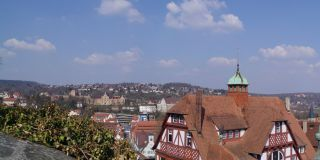 Views from the Castle Hohentübingen (Castle Garden)