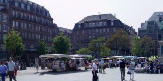 Rynek w Strasburgu