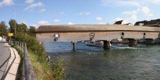 莱茵河桥 Diessenhofen g Belastingen