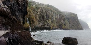 Costa cerca de Ribeira Brava, Madeira