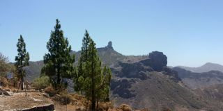 Views of Roque Bentayga and Roque Nublo