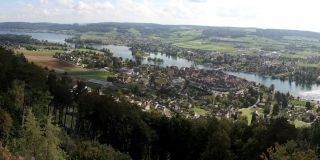 Views of Stein am Rhein by Hohenklingen Castle