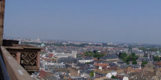 Widok na katedrę w Strasburgu