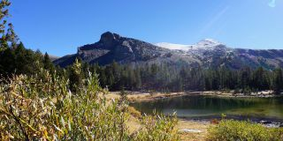 Tioga Pass Parking Lot