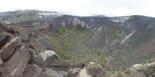 Vulkansk krater, La Palma